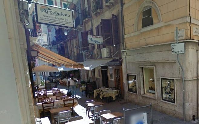 Il quartiere Marina a Cagliari